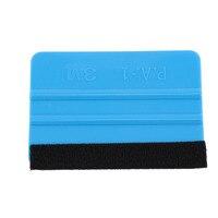 1pc raspador azul plástico vinil macio vidro de feltro windows estilo do carro acessórios da folha do carro ferramenta rodo adesivo ferramenta prática|Rodos| |  -