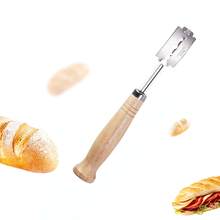 Baycheer Specialty European Bread Arc Curved Bread Knife Western-style Baguette Cutting French Toast Cutter Bagel Tools Baker цена