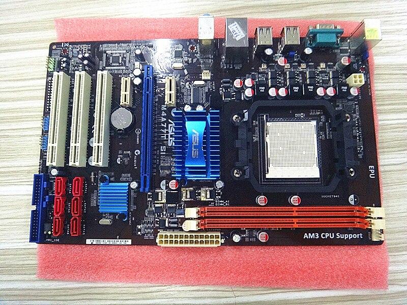 все цены на Used,For Asus M4A77T SI Original Desktop Motherboard 770 Socket AM3 DDR3 SATA II USB2.0 ATX онлайн