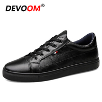 Spring High Quality Oxfords For Men Flat New Authentic Brand Casual Mens Genuine Leather Loafers White