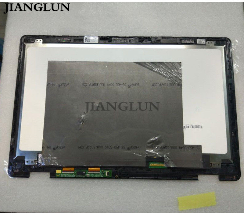 JIANGLUN 4K 15.6LCD+Touch Screen Digitizer Assembly for Dell Inspiron 7568 LTN156FL02 15 6 laptop lcd touch screen glass digitizer display panel assembly for dell inspiron 15 7000 serie 15 7568 2 in 1 3840x2160 4k