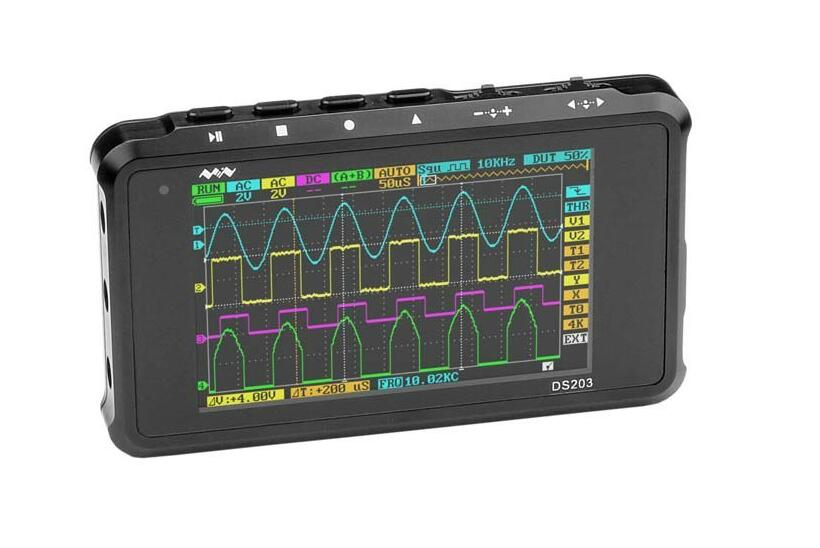 DSO203 DS203 DSO202Touch 2-Channel Mini Digital Oscilloscope