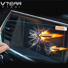 Vtear For Hyundai creta ix25 GPS Navigation Screen Steel material Protective Film LCD Screen Film Sticker accessories 2015-2017
