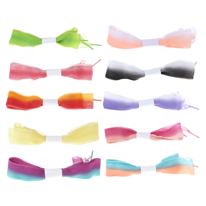 EYKOSI Chiffon Assorted Color Shoelace Half Transparent Shoes Strings For General Use 2017 fashion 1 35cm chiffon shoelace ice cream lace shoes strings colorful general use multi color new long durable