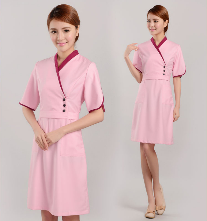 Online buy wholesale spa uniform tops from china spa for Spa uniform wholesale