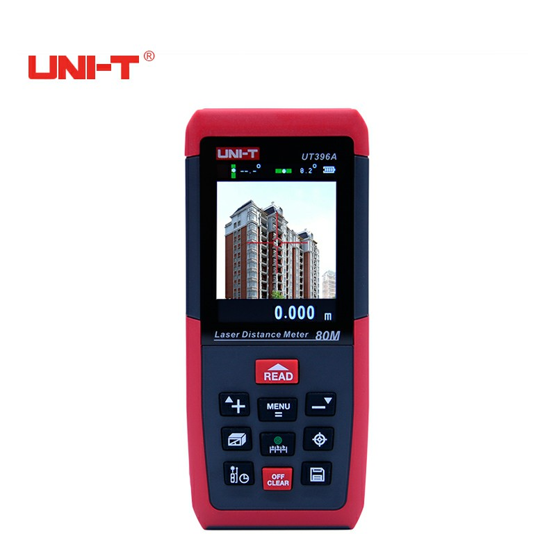 Professional Laser Distance Meters UNI-T UT396A 80M Laser Range finder Digital range finder Measure Area/volume Tool купить в Москве 2019