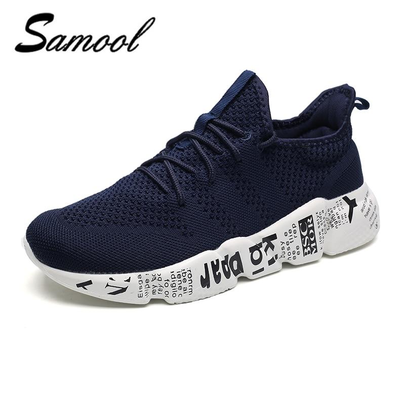 2018 Uomo Estate Air Mesh Shoes Mocassini lac-up Water shoes Walking - Scarpe da uomo