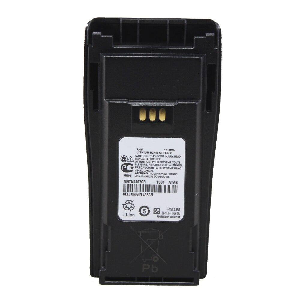 imágenes para NNTN4497 PMNN4254AR NNTN4496 2500 mAh Li-ion Batería Para DP1400 DEP450 CP380 CP200 CP040 CP140 CP160 CP180 GP3688 EP450 PR400