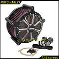 Мотоцикл С ЧПУ Ремесла Воздухоочиститель Впуска Фильтр для Harley Sportster XL 883 1200 2004-2015