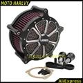 Motocicleta CNC de Ferro Artesanato Air Filter Cleaner Intake para Harley Sportster XL 883 1200 2004-2015