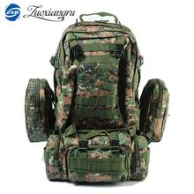 Zuoxiangru Combined Bags 55 Liters Large Capacity Multifunction Men Travel Bag Backpack Set Trekking Rucksacks Men Backpack