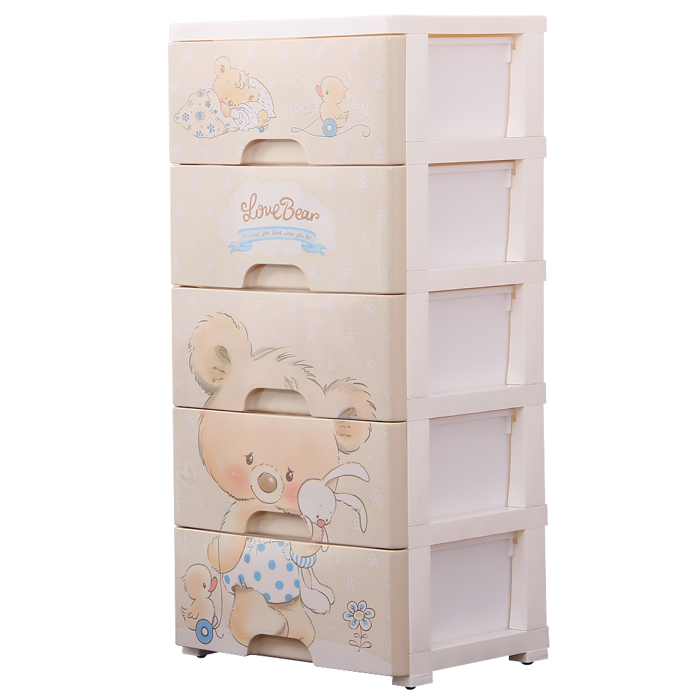 2019 Style Big Plastic Storage Drawer Rushed Wooden Box