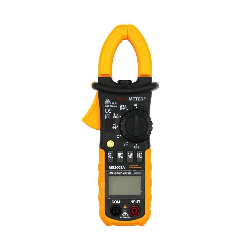 MS2008A Professional Digital Multimeter AC/<font><b>DC</b></font> Voltage Current Clamp Meter Measurement Diagnostic-tool Analysis Instruments image