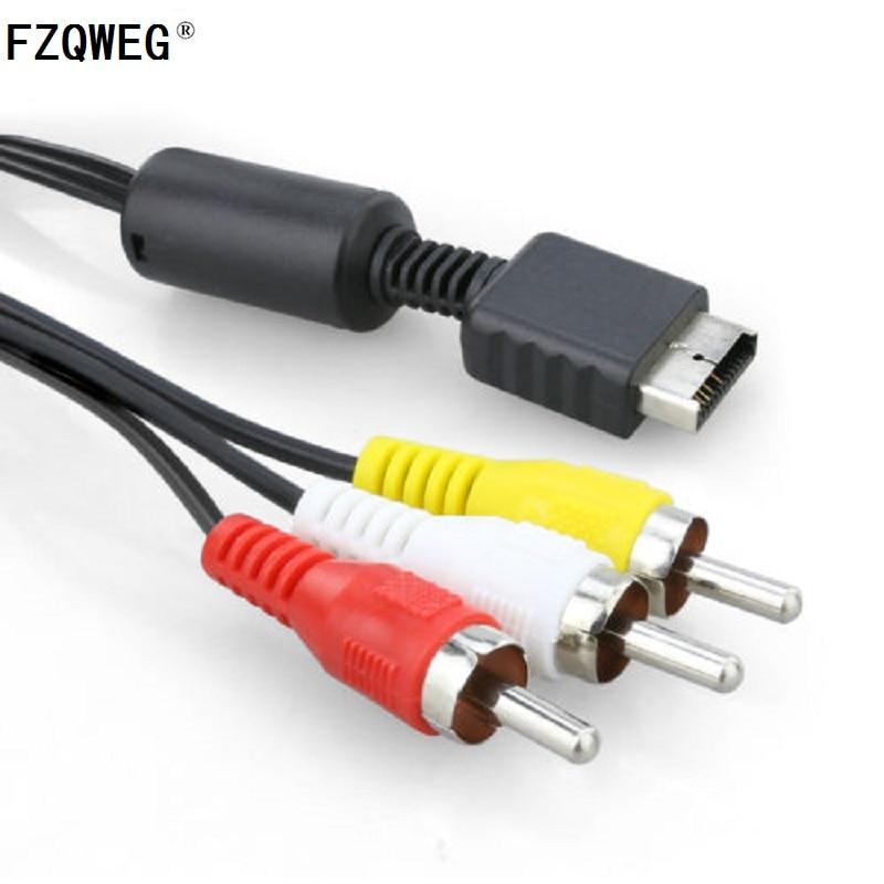 Videospiele Fzqweg 10 StÜcke Kabel Für Sony Playstation Ps3 Ps2 Konsole System Av Audio Video Kabel Kabel