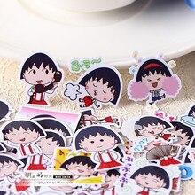 Photo-Albums Sakura Decorative-Sticker/diy-Craft Creative Cute 40pcs Self-Made Momok