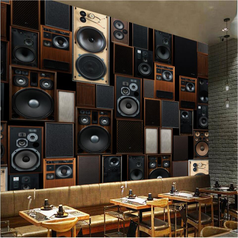 Beibehang European Style Retro Ktv Audio Speakers