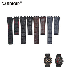 Fashion 22mm Silicone & Leather Watchband For TAG HEUER Series Unisex Quality Band Soft Watch Strap For CARRERA Wrist Bracelet все цены