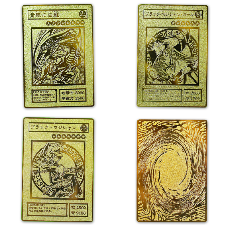 Yu Gi Oh Gold Karte Metall Karte Lokalen Japanischen Golden Eye Weiß Drachen Vol Edition Sammlung Karte Kinder Spielzeug Geschenk Sammeln & Seltenes