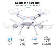 RC Drone SYMA X5SW Com Wi-fi FPV HD Camera RC Helicopter 2.4G 6-Modo Headless Axis Gyro Quadcopter VS H31 Toy presente para meninos