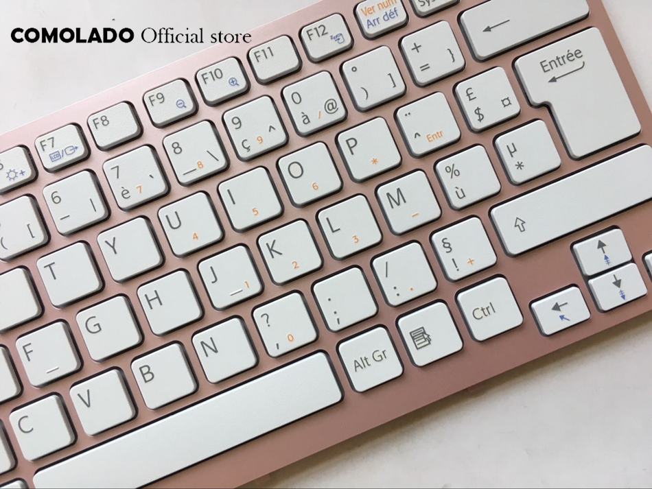 FR French Keyboard For Sony Vaio VPC-CW VPC CW VPCCW CW16EC CW18FC pink Frame Laptop Keyboard FR Layout