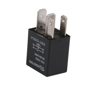 Image 5 - 1 Pcs DC 12V 30A 4 핀 SPST 전자 릴레이 자동차 보트 릴레이 자동차 제어/알람/경적/헤드 라이트 등 2.0x1.5x3.5cm