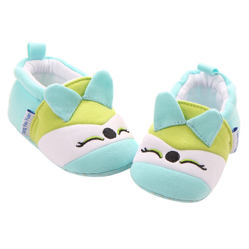 2017 Fashion New Autumn Winter Baby Shoes Girls Boy First Walkers Newborn Cotton Shoes Cartoon First Walkers Cute Style