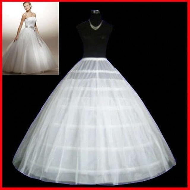 Hot Underwear Crinoline 6 Hoop Petticoat For Ball Gown Dress Wedding Accessories Underskirt