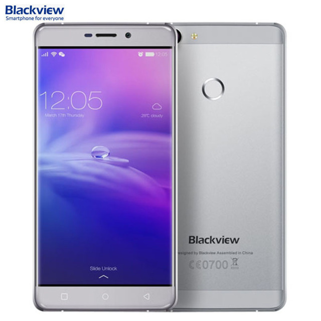 Blackview R7 Network 4G 5.5'' Android 6.0 MTK6755 Octa-core 2.0GHz RAM 4GB+ ROM 32GB Smartphone GSM WCDMA LTE Fingerprint ID