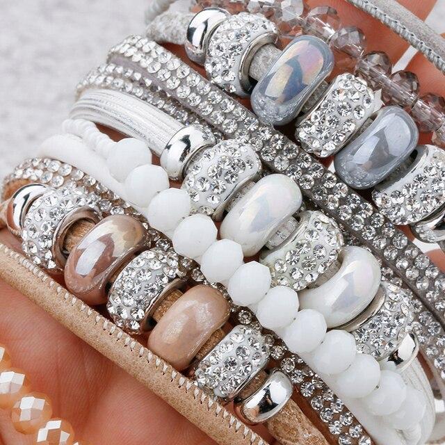 Bead Bracelet on woman's skin