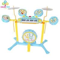 Jazztrommel 17 Tastatur Klavier Musik Spiel Gesetzt Spielzeug für Kinder