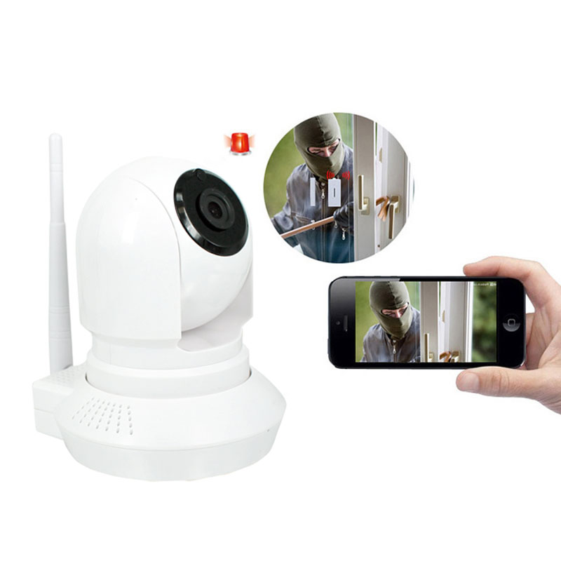 IP Camera 720P HD Wifi Wireless  Home Security Camera Pan Tilt With Night Vision with Two-Way Audio For Monitor Baby Pet LCC escam hd 720p wireless ip camera wifi pan tilt two way audio p2p ir cut night vision onvif cloud home security camera sd card