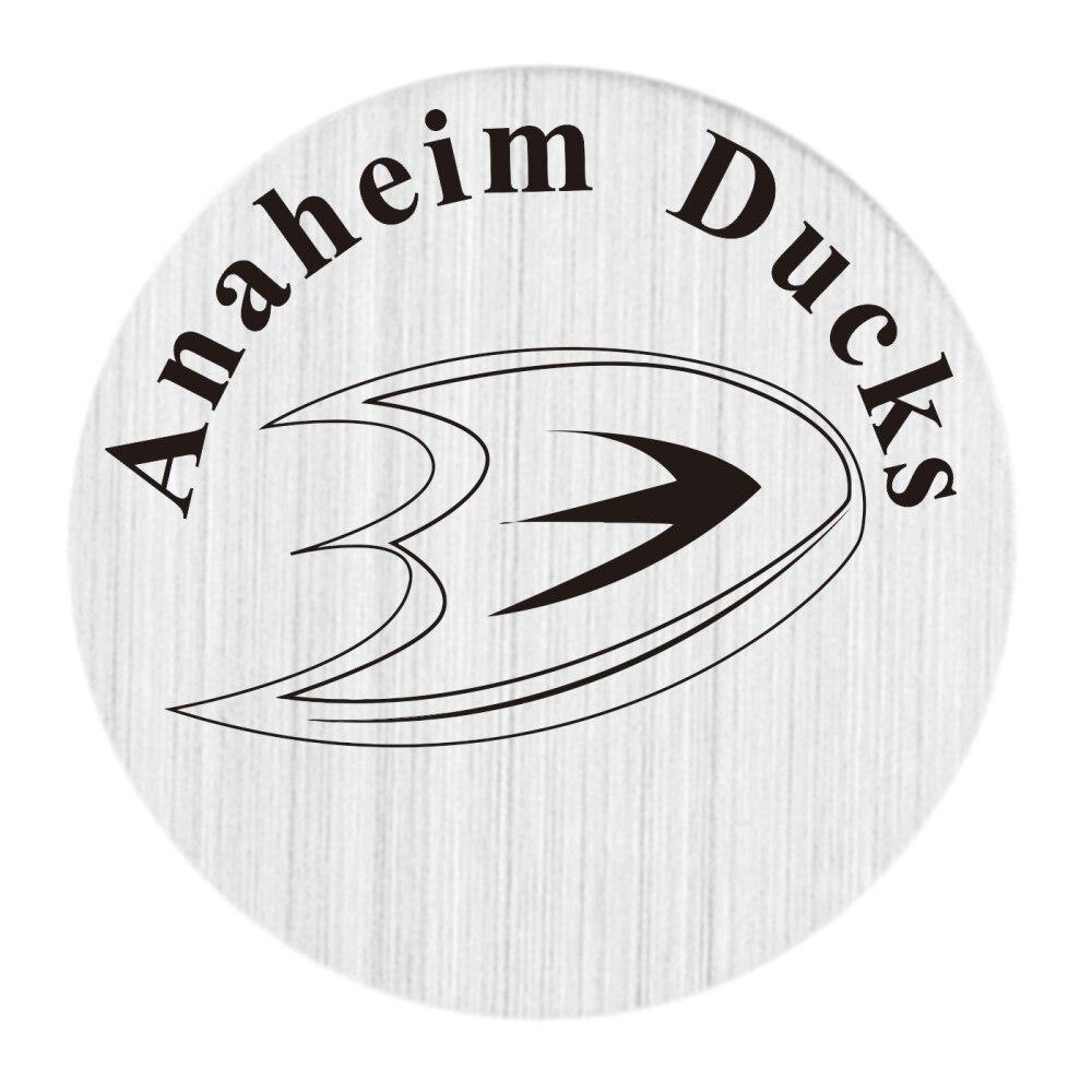 Анахайм 22 мм Нержавеющаясталь с плавающей медальон плиты НХЛ плавающий Талисманы Fit 30 мм жизни Стекло медальоны 20 шт./лот