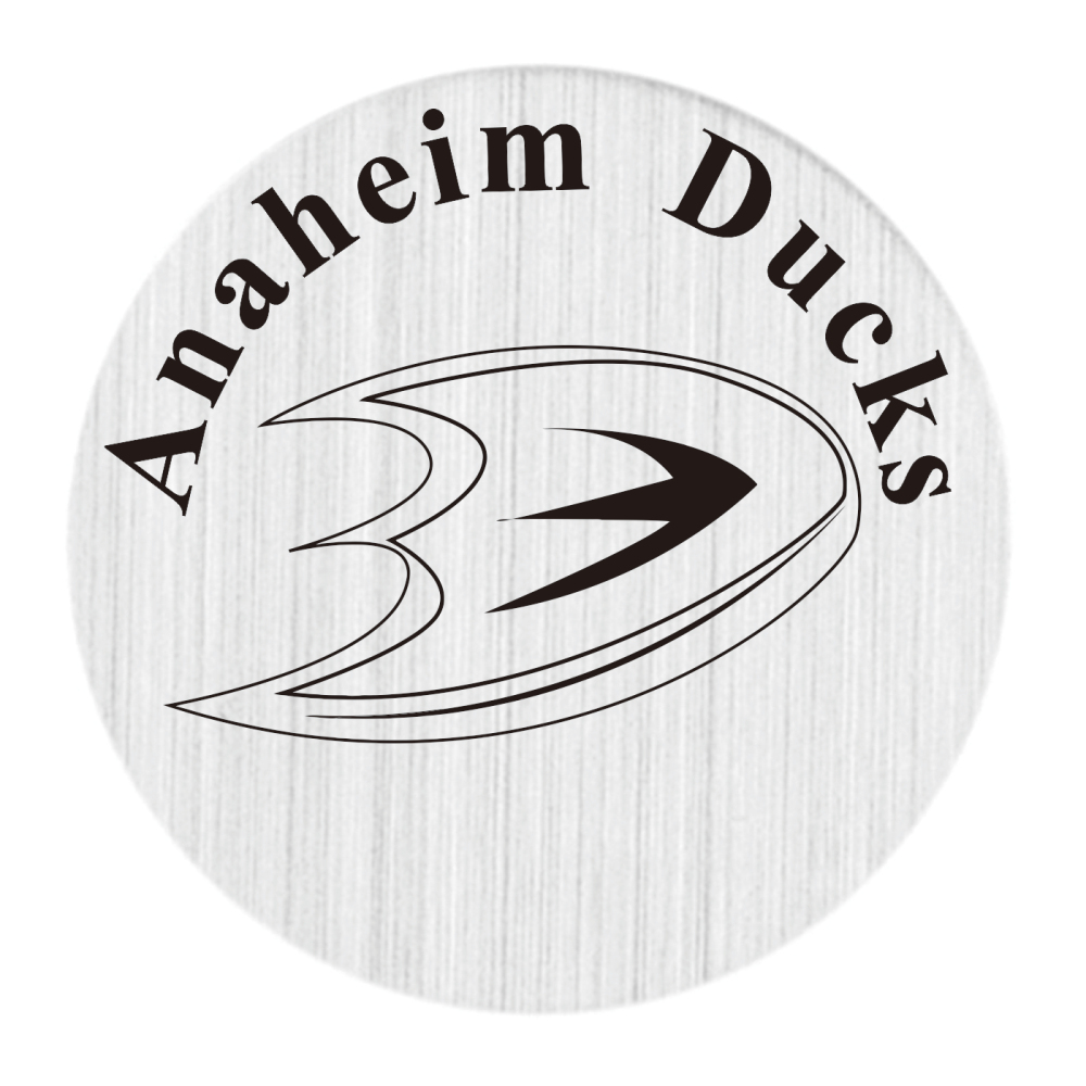 Anaheim Ducks 22mm Stainless Steel Floating Locket Plate NHL Floating Charms Fit 30mm Li ...