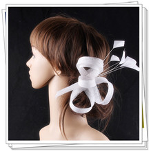 17 colors elegant sinamay material fascinator headpiece cocktail hair accessories race hat suit for all season FNR151263