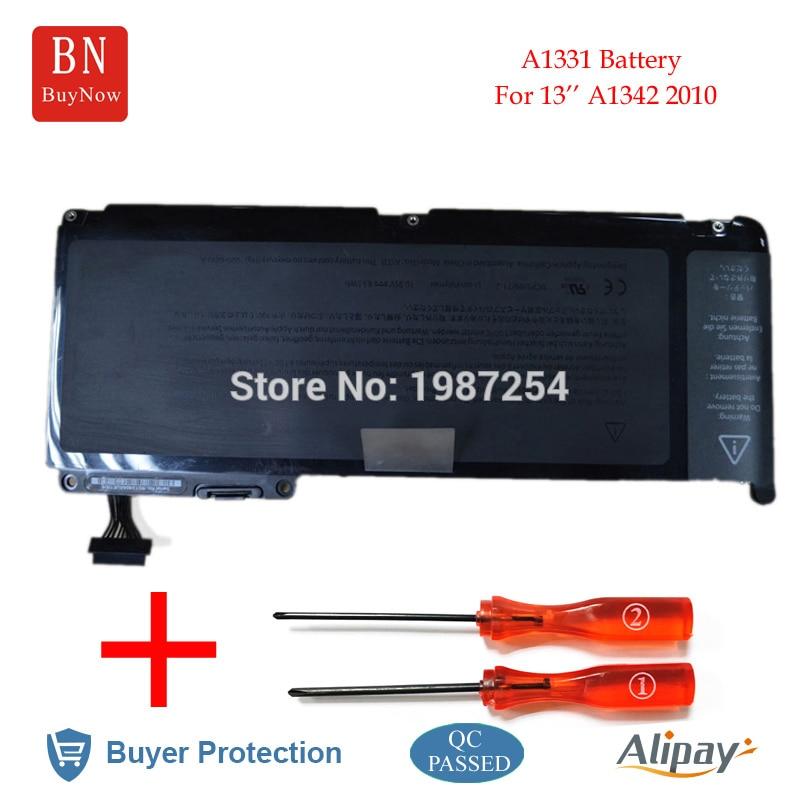 цена на Genuine Cell 10.95V 63.5WH A1331 Battery For Apple MacBook Unibody 13