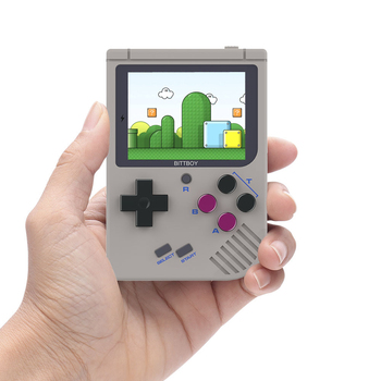 New BittBoy V3 Video Game Console Retro Handheld Save/Load Game Console Preload Steward System