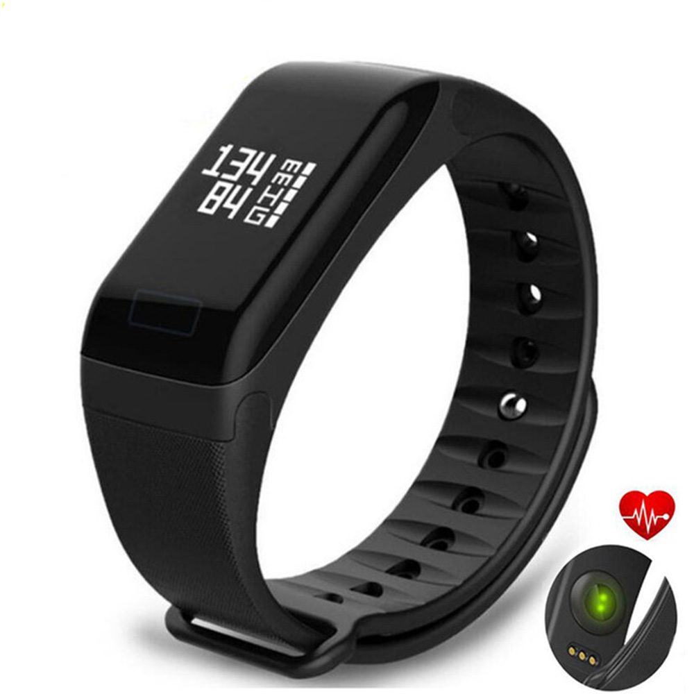 F1 Smart Armband Podometer Smart Band Heart Rate Monitor Pulsometer Smart Uhren Blutdruck Messung Puls Uhr VS Y5