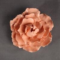 Розы пионы декоративные настенные цветок блюд фарфоровая декоративная тарелка старинные домашнего декора ремесленных ремесел украшения к...