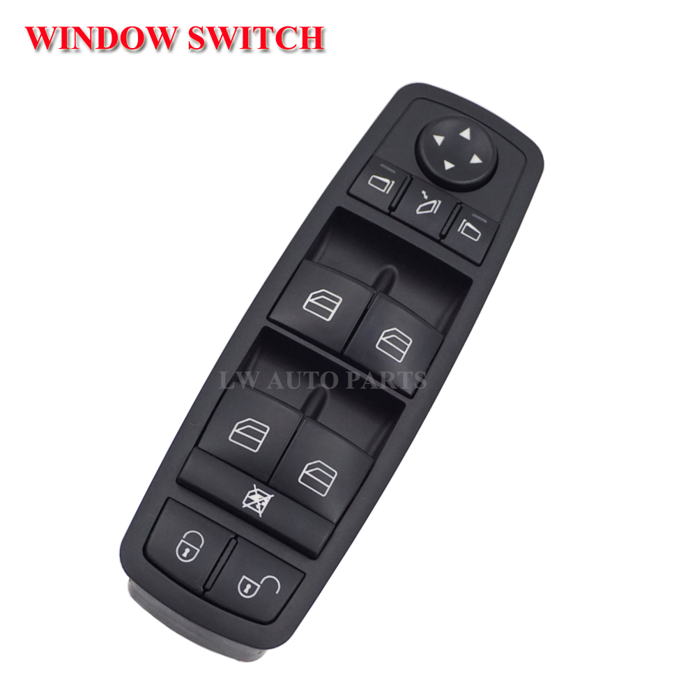 Car Auto Electric Power Window Switch for Mercedes Benz W169 A-Class W245 B-Class <font><b>1698206710</b></font> Car accessories Car switch Black image