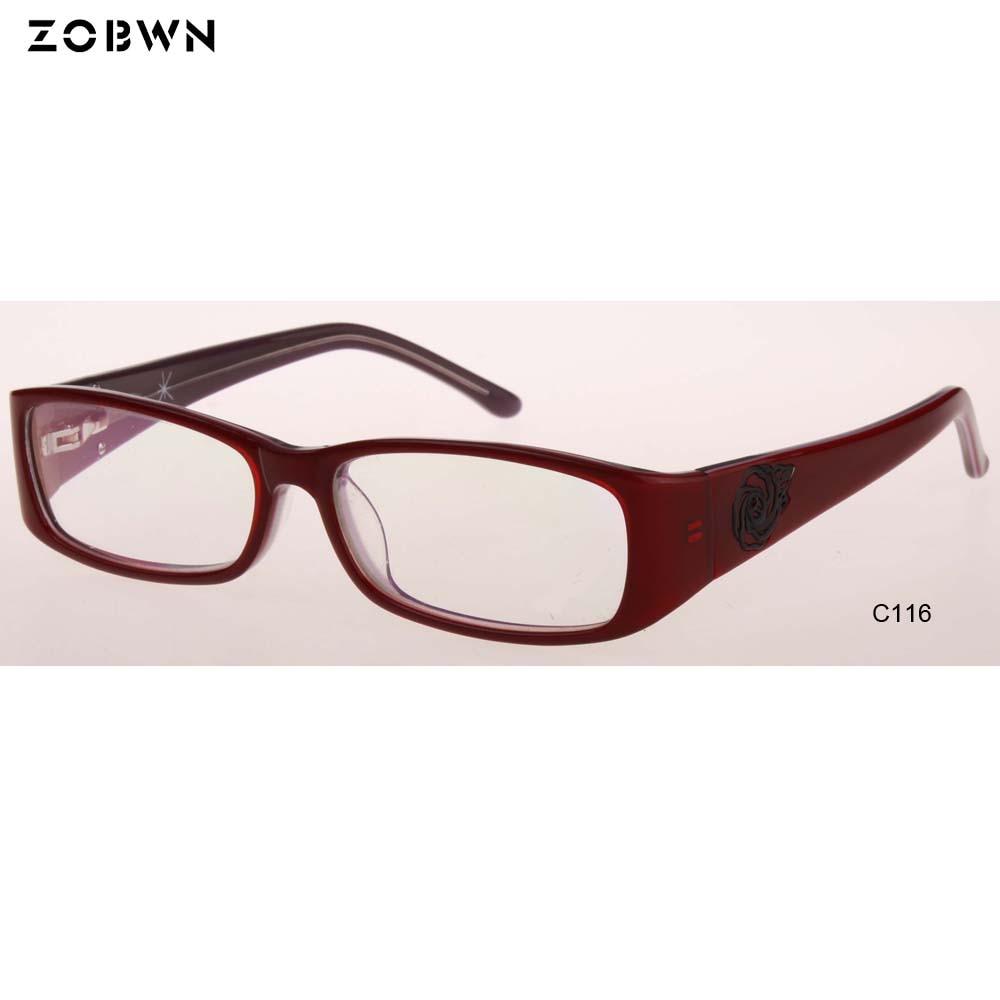 Förderung Großhandel Frauen Für Optische Männer Spektakel Weibliche Rahmen Mix Vintage Masculinos Gafa Myopie Klare Brillen Linse 5xSBnwYAwd