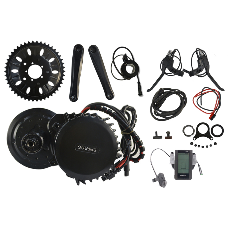 48v Electric Bike Kit Bafang 8Fun BBS BBS03 BBSHD 48V 1000w Mid Drive Motor Brushless Mid Engine Conversion Kit BB Lenth 100mm free shipping electric bicycle 48v 1000w 8fun bafang bbs03 bbshd mid drive motor kit 68mm 100mm 120mm with c965 lcd display