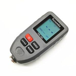 Image 2 - YNB 200 Digital LCD Display Dicke gauge farbe beschichtung Digitale Autolack Dicke Meter 0 1300um Breite Messung tester