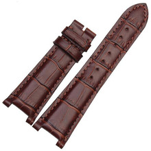 25X18mm Recess 12mm Cowhide Leather watch strap band watchband  For Ham nautilus Series