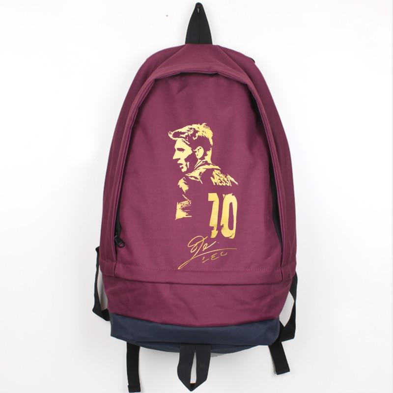 ახალი ჩამოსვლა Messi Canvas Backpack - ზურგჩანთა - ფოტო 4