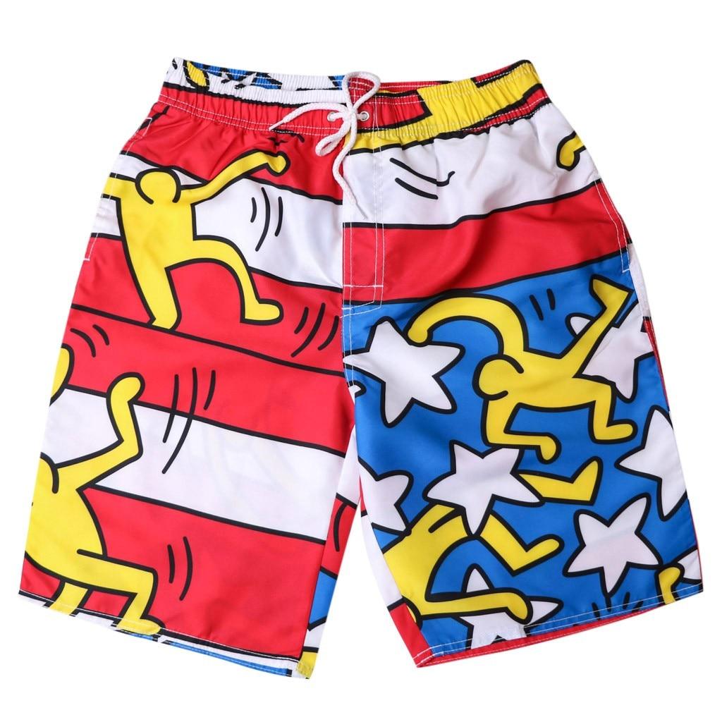 Men Beach   Shorts   Beach   Board     shorts   Sports Mens Swimming Trunks Boys Swimming suit Male Swimwear   Short