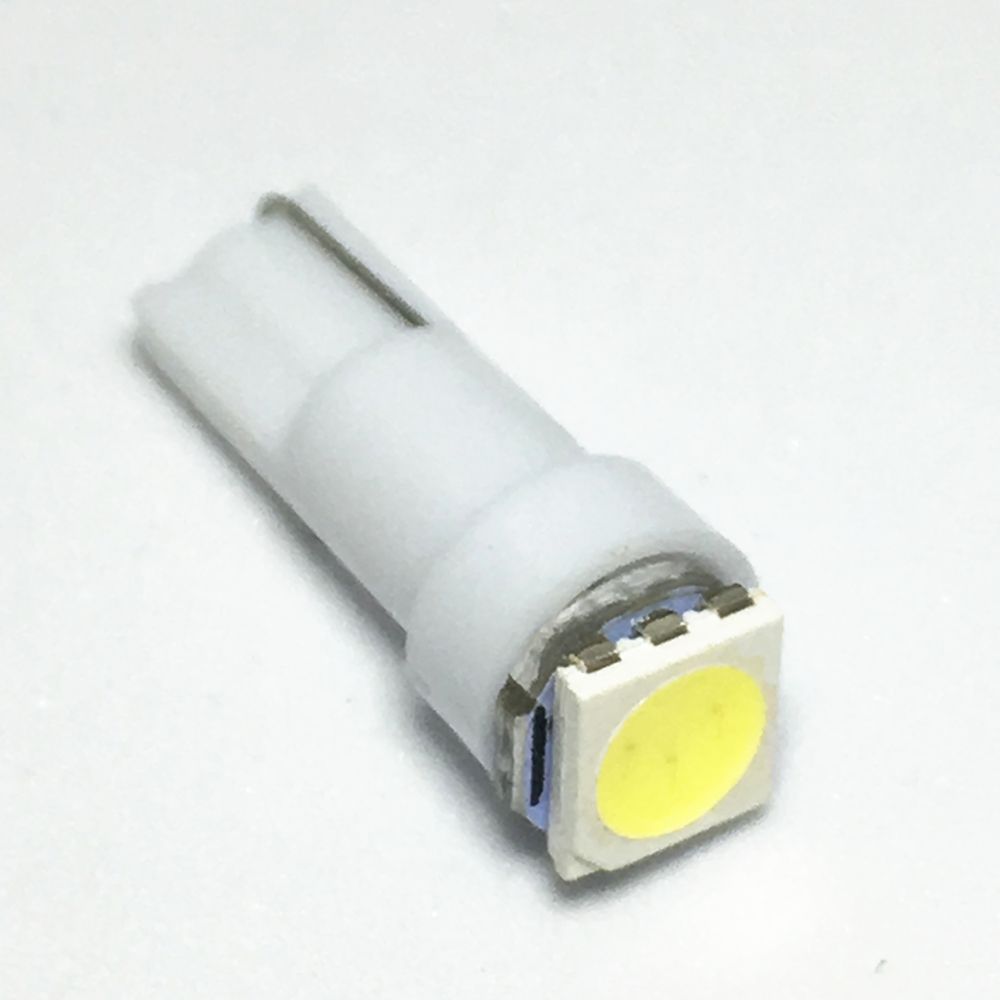 T5 led 17 37 73 74 SMD 5050 Auto LED Lamp Car Dashboard Instrument Light Bulb 12V white blue red yellow green 10X