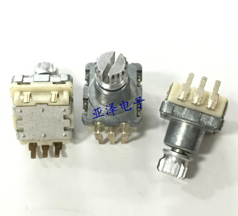 Switches 5pcs Taiwan Sw Rising Wei Type Ec11 Encoder With Switch 20 Positioning 20 Pulse Shaft Long 20mm Digital Potentiometer
