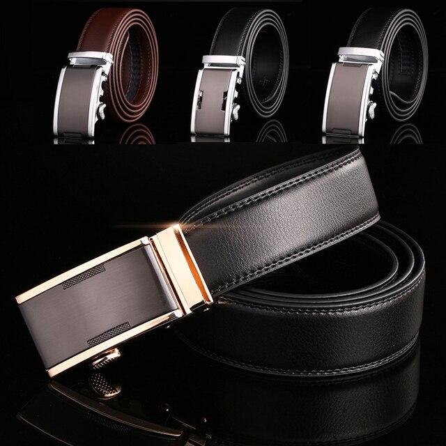 Cinturón de cuero hombres Cinturones de diseño hombres de