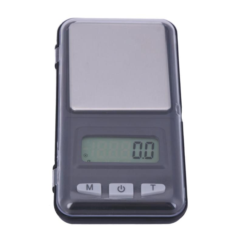 500g/0.1g 200g/0.1g Mini Electronic Jewelry Digital Scale Backlight Weight Pocket LCD Home Kitchen Tea Balance