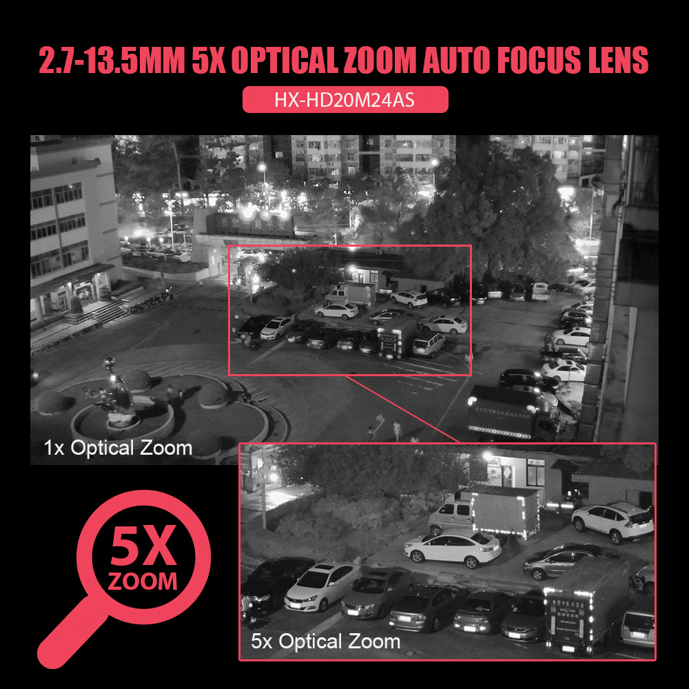 Image 5 - Super Mini 2.5 Inch PTZ Speed Dome WIFI IP Camera 1080P Outdoor 5X Zoom / 4mm Fixed Lens Wireless Camera IR 60m Two Way Audio-in Surveillance Cameras from Security & Protection